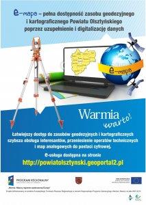Warminsko Mazurskie Cyfrowa Geodezja W Powiecie Olsztynskim